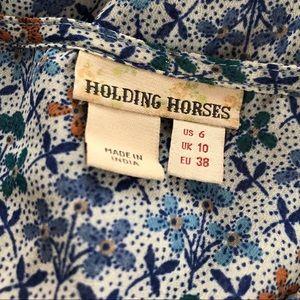 b12f4d90cfac Anthropologie Dresses - Anthro Holding Horses Betony Swing Dress Size 6